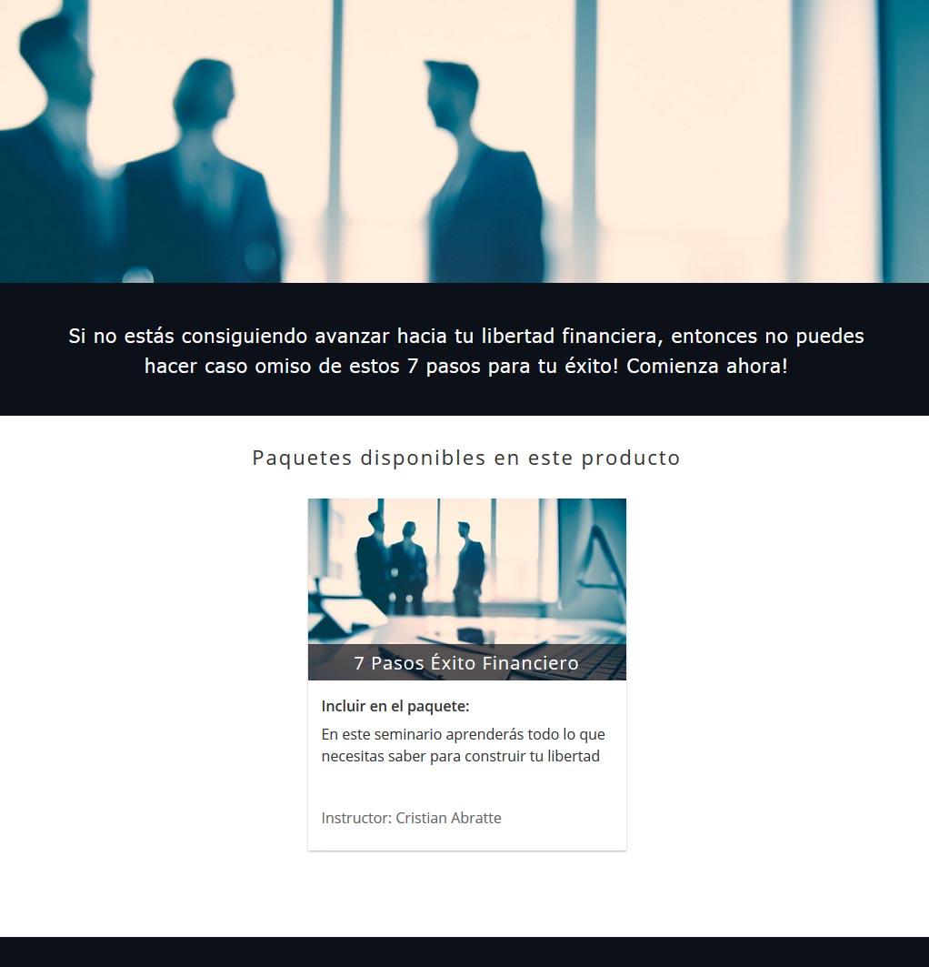 7 Pasos Exito Financiero - cristian abratte