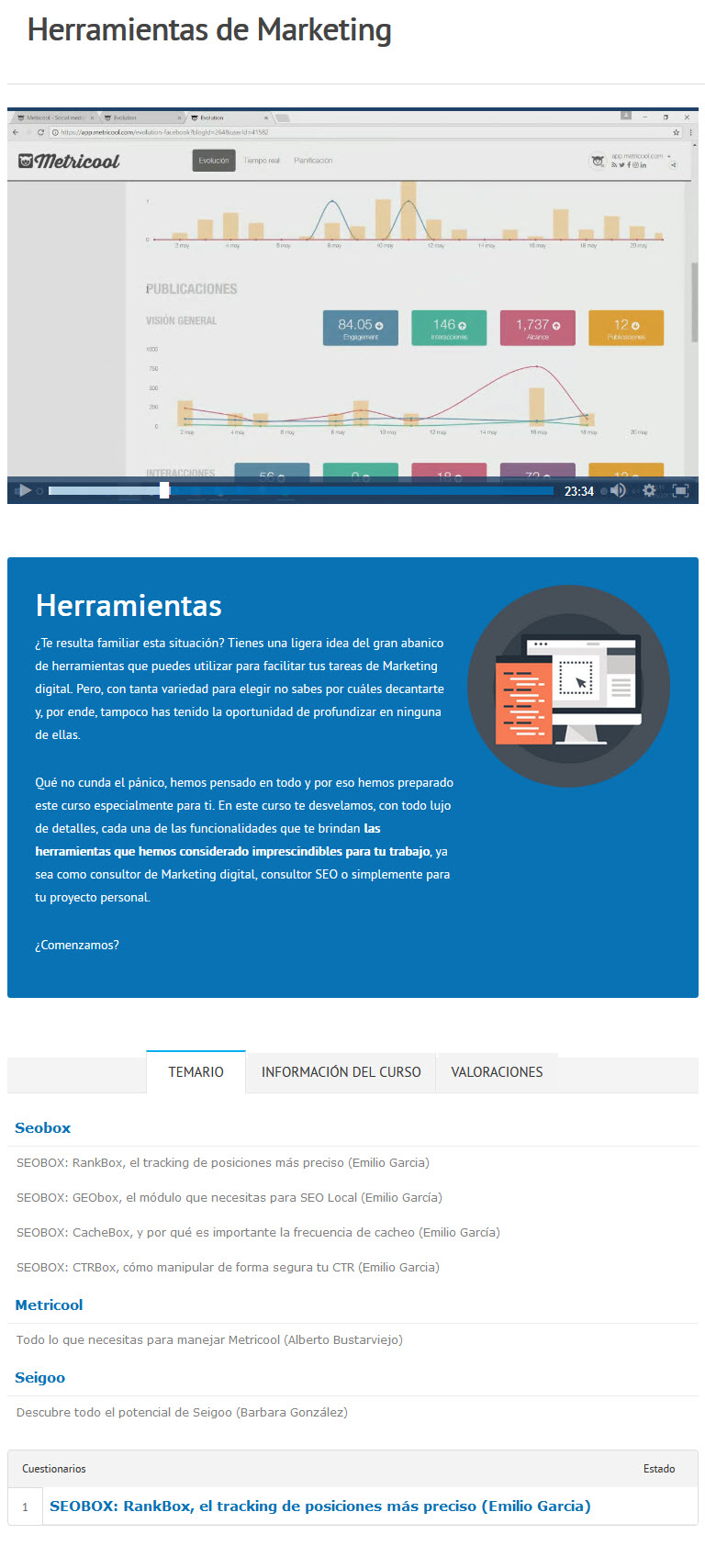 Herramientas de Marketing