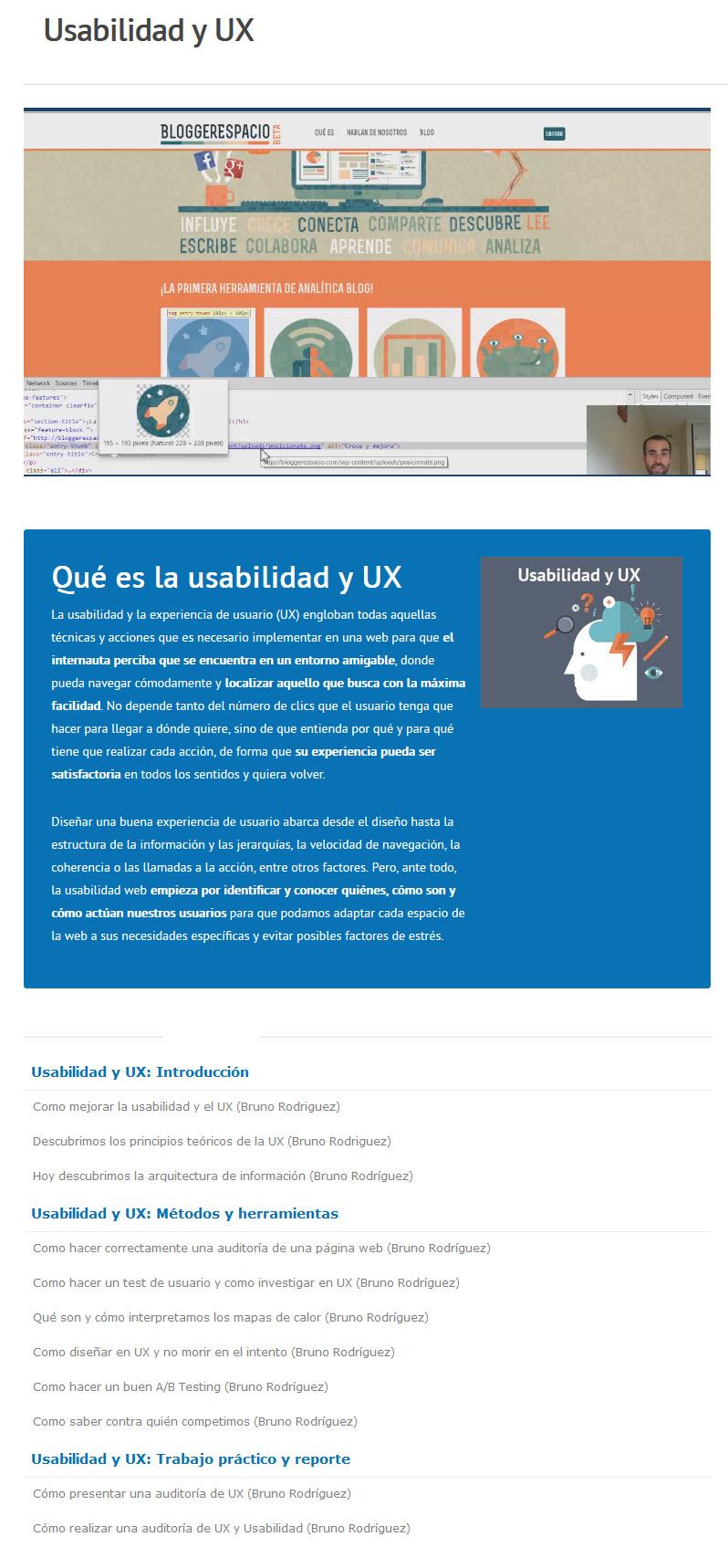 Usabilidad y UX - bruno rodríguez