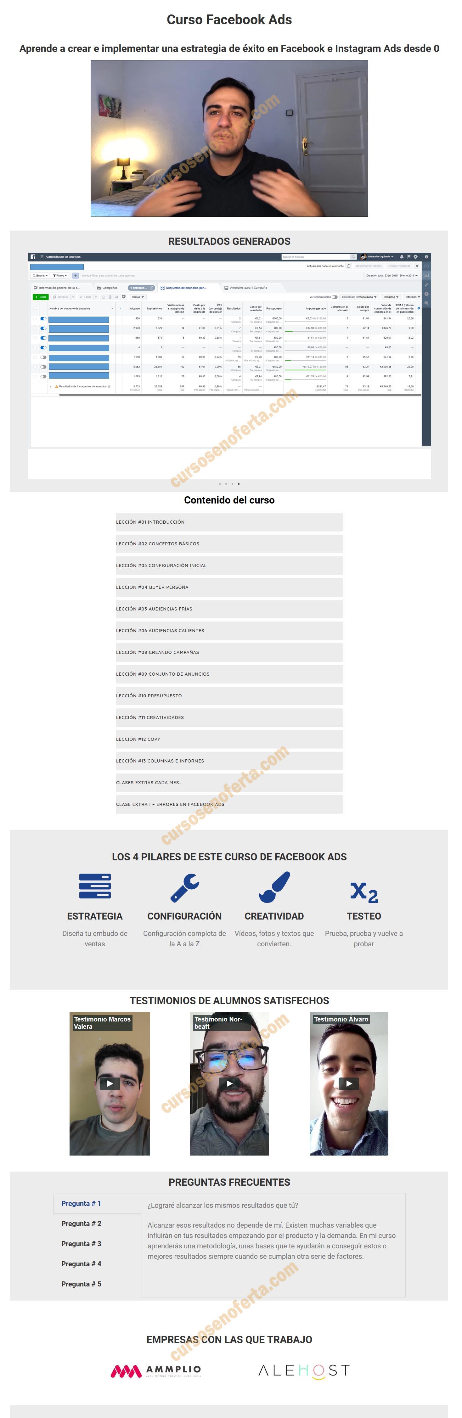 Curso Facebook Ads - Alex Izquierdo