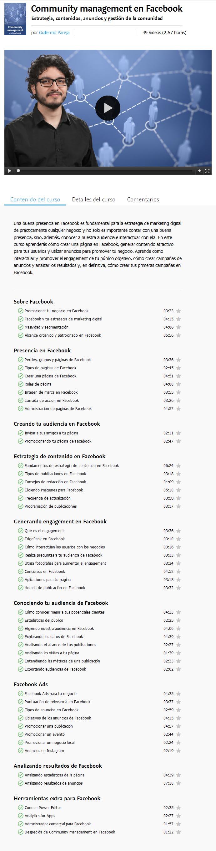 Community Management en Facebook