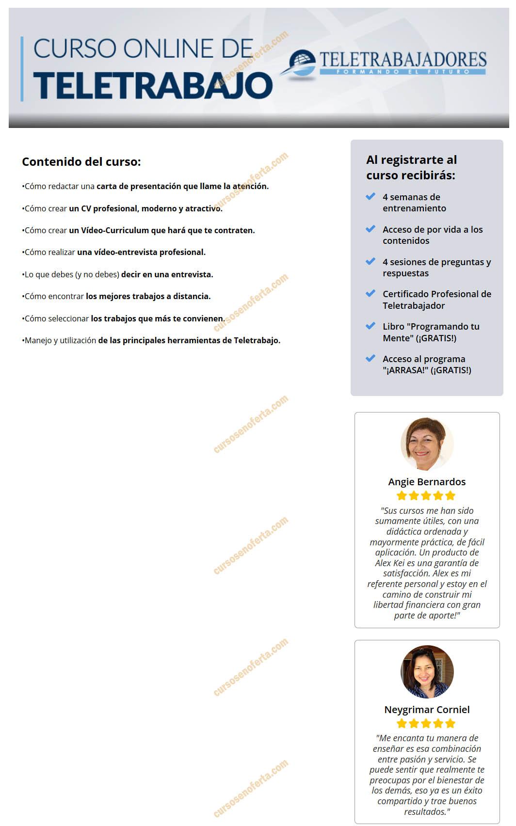 Curso online de teletrabajo - alex kei