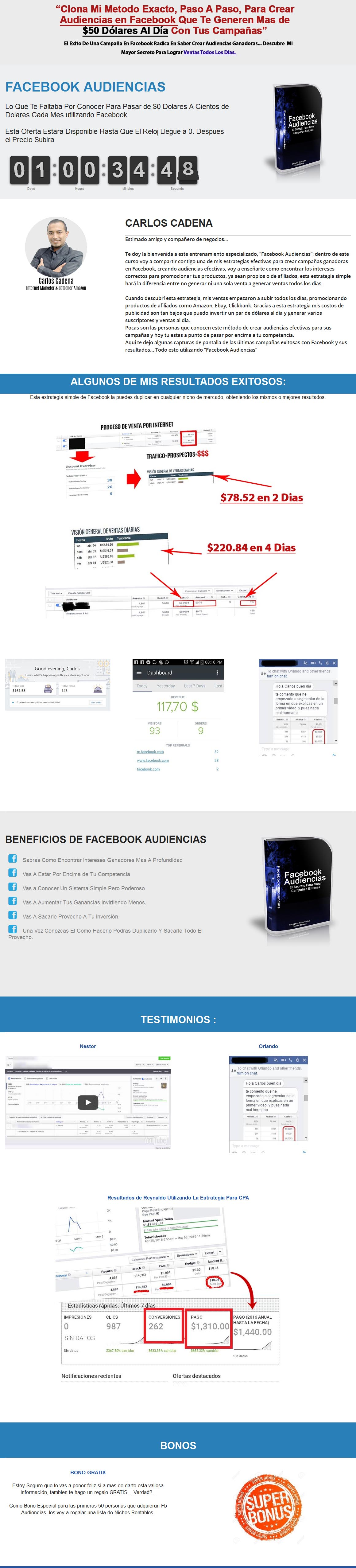 FB AUDIENCIAS