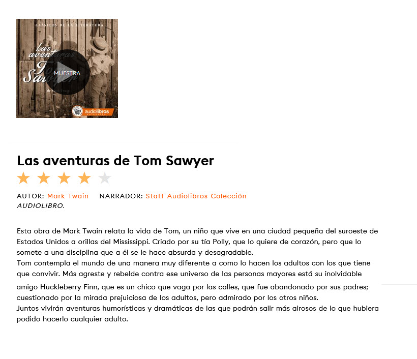 Las aventuras de Tom Sawyer - Mark Twain (audiolibro)