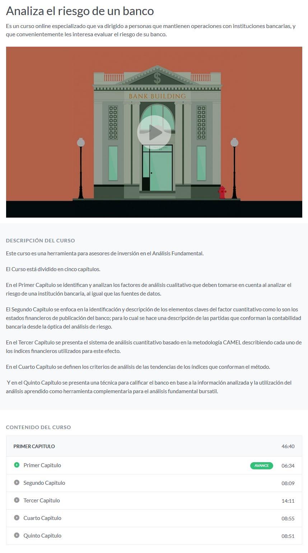 Analiza el Riesgo de un Banco - Jonny Zafra