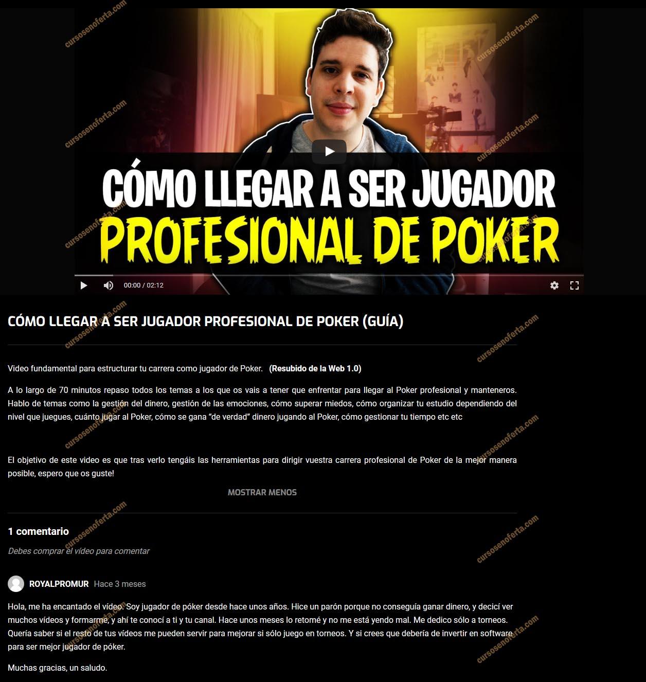 Cómo llegar a ser jugador profesional de poker