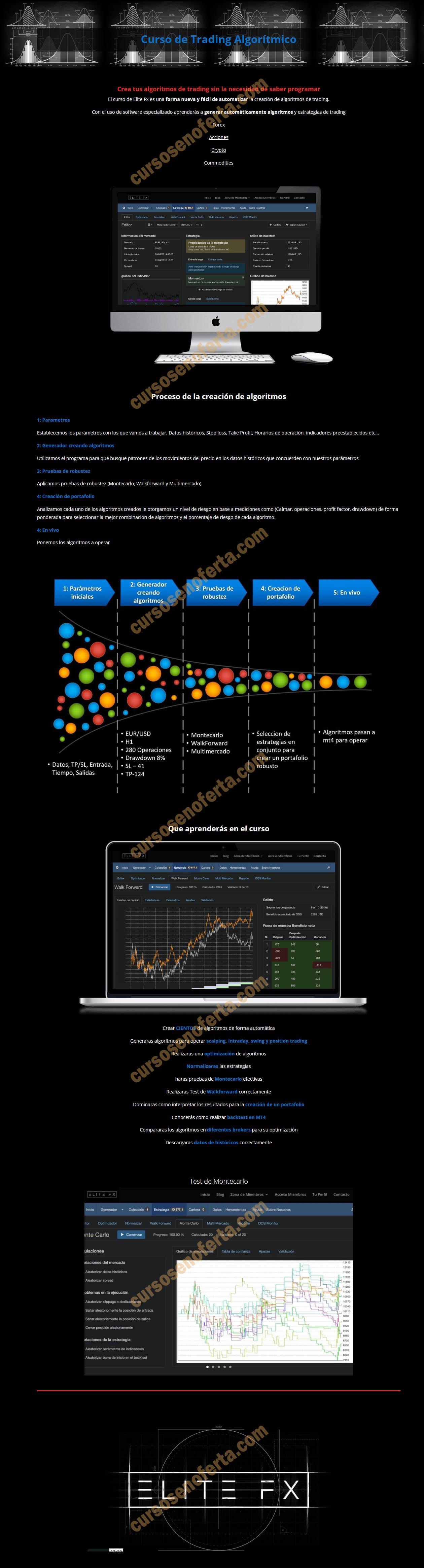 Curso de Trading Algorítmico - elite fx