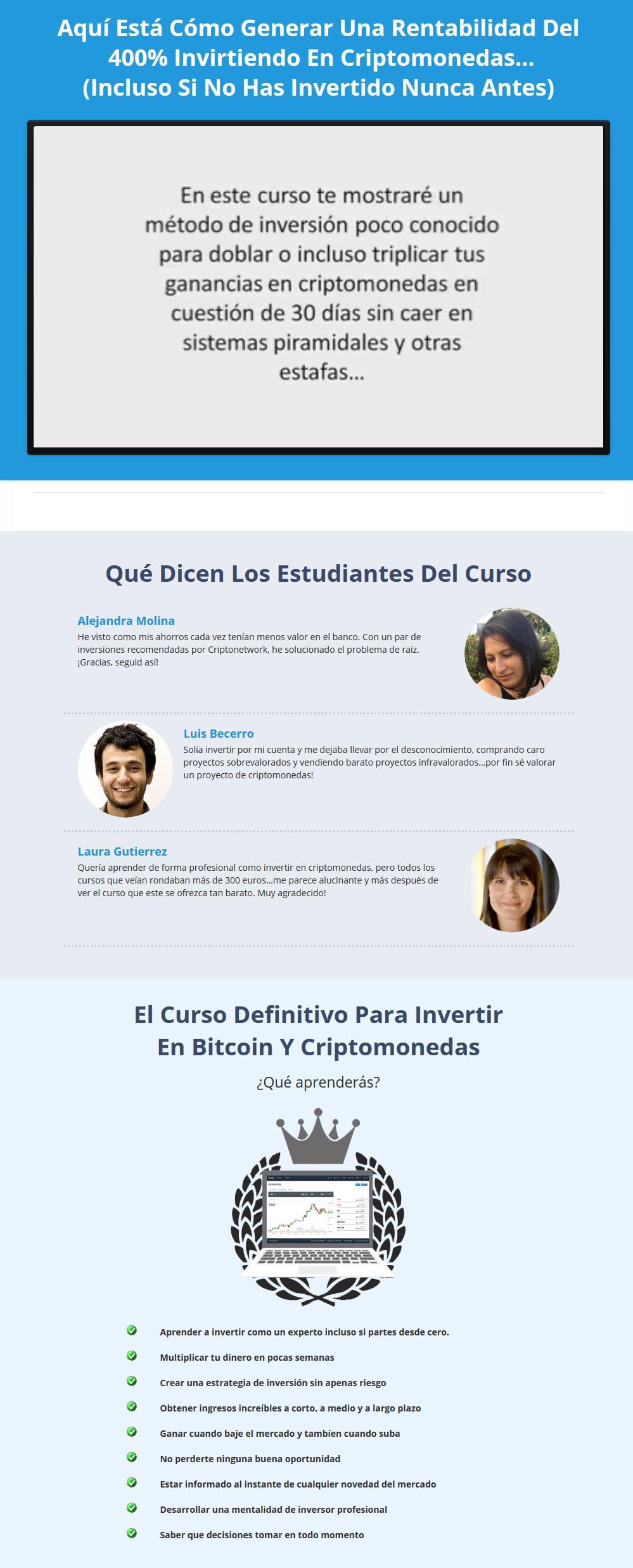 Curso Definitivo Para Invertir en Bitcoin y Criptomonedas