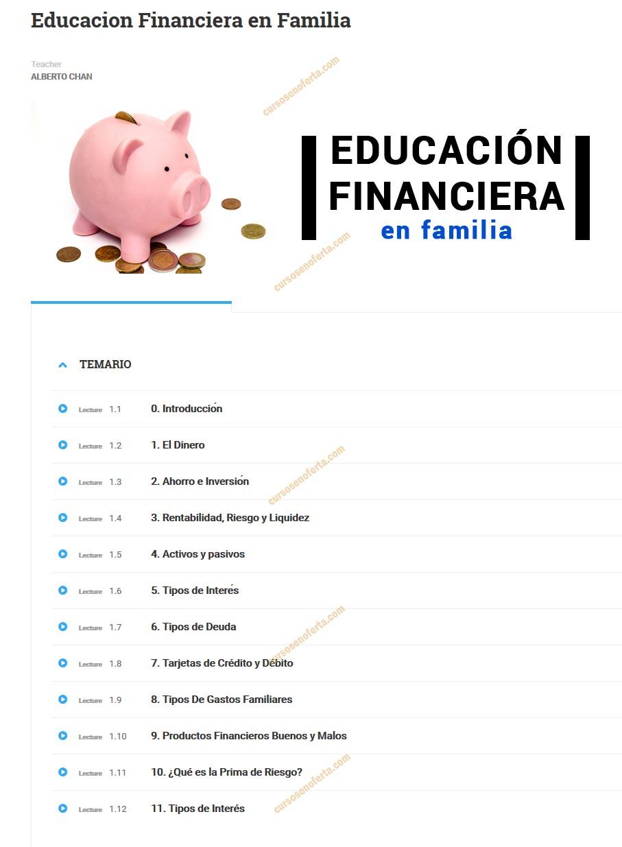 Educación Financiera en Familia - alberto chan