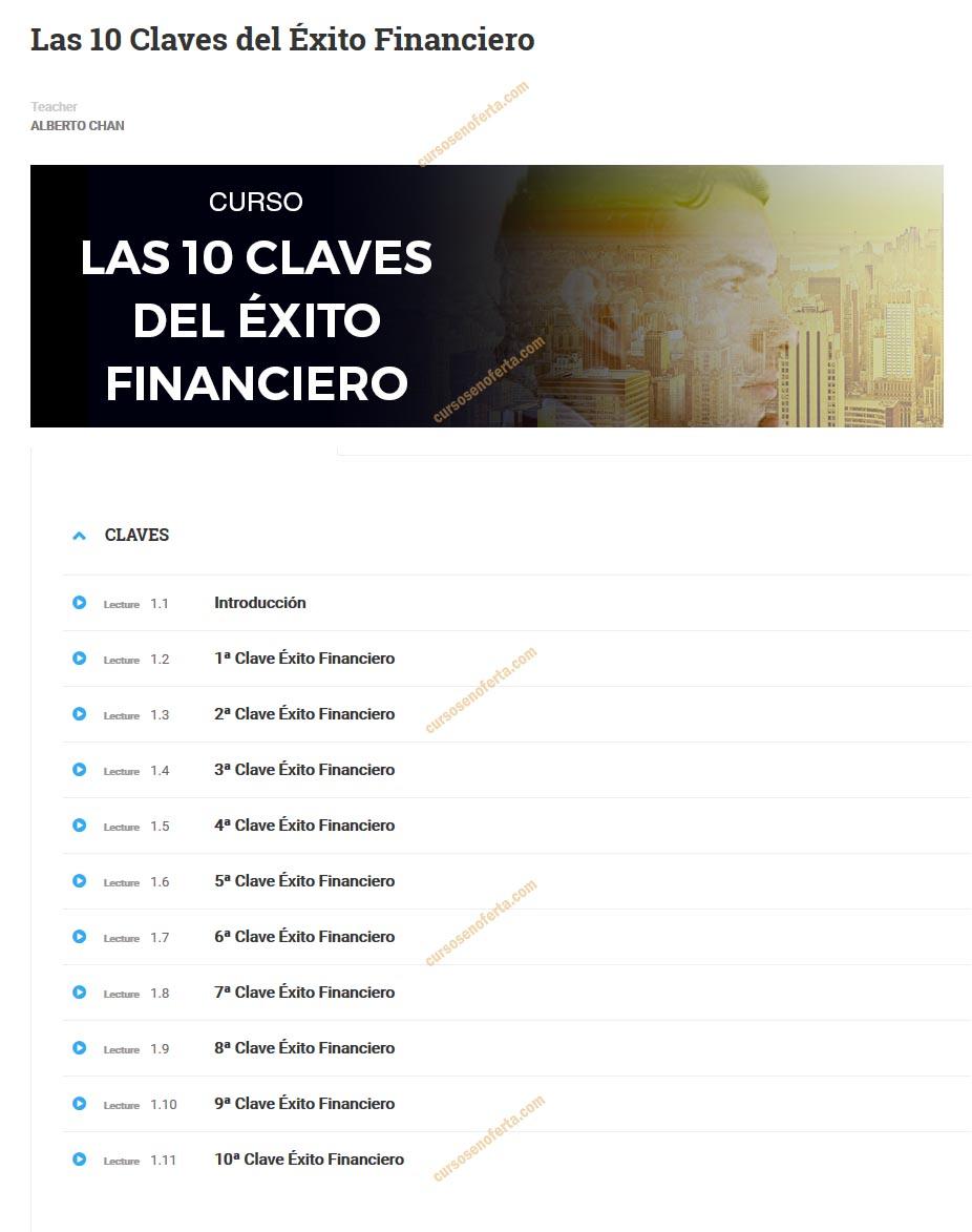 Las 10 Claves del Éxito Financiero - alberto chan