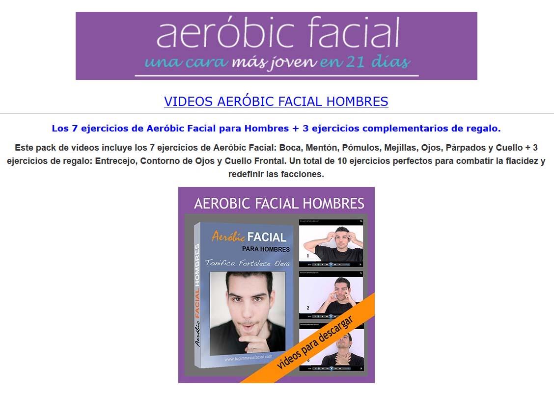 aerobic facial hombres