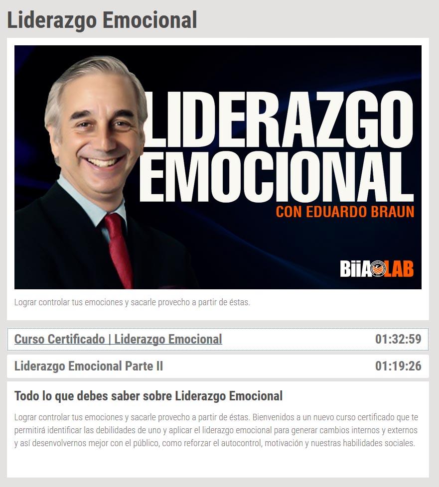 liderazgo emocional - eduardo braun