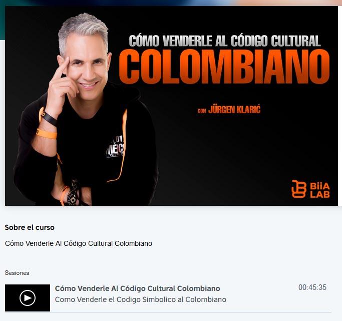 Cómo Venderle al Código Cultural Colombiano