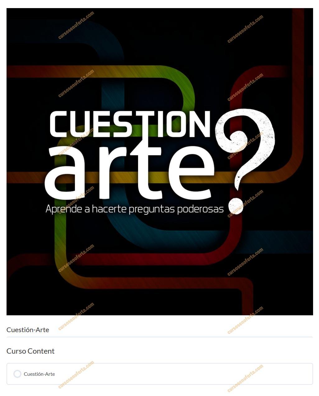 Cuestión de Arte - Benoist Academy