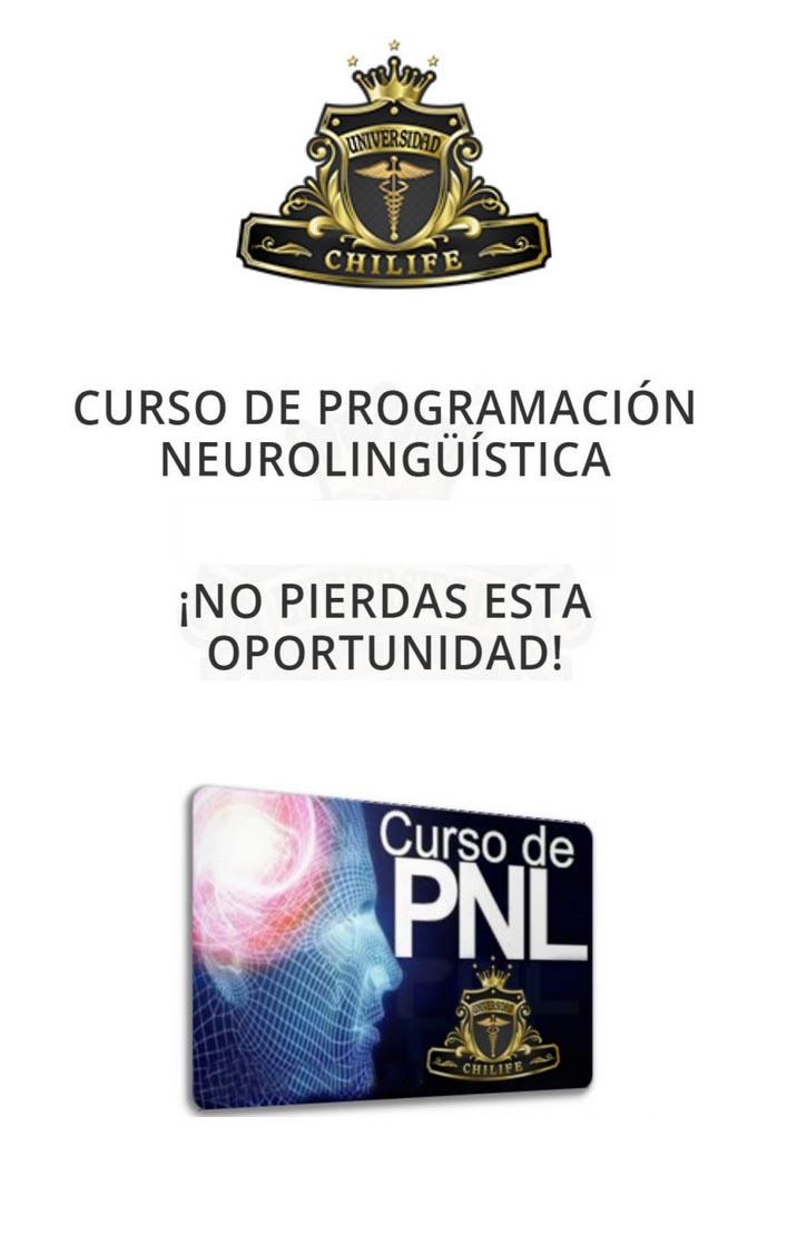 Curso de PNL - universidad de chilife
