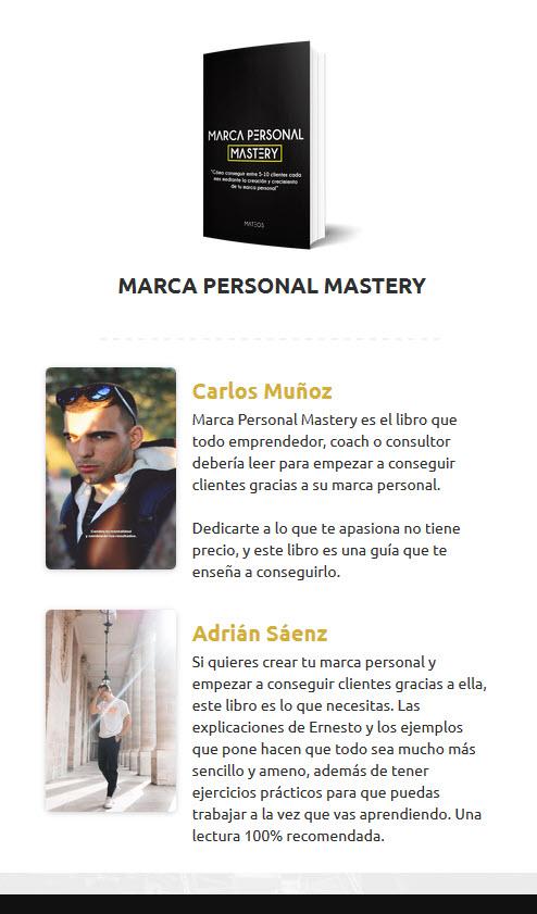 Marca Personal Matery - Ernesto Mateos