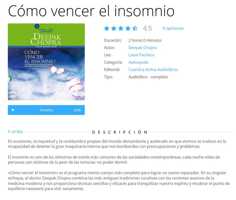 Cómo vencer el insomnio