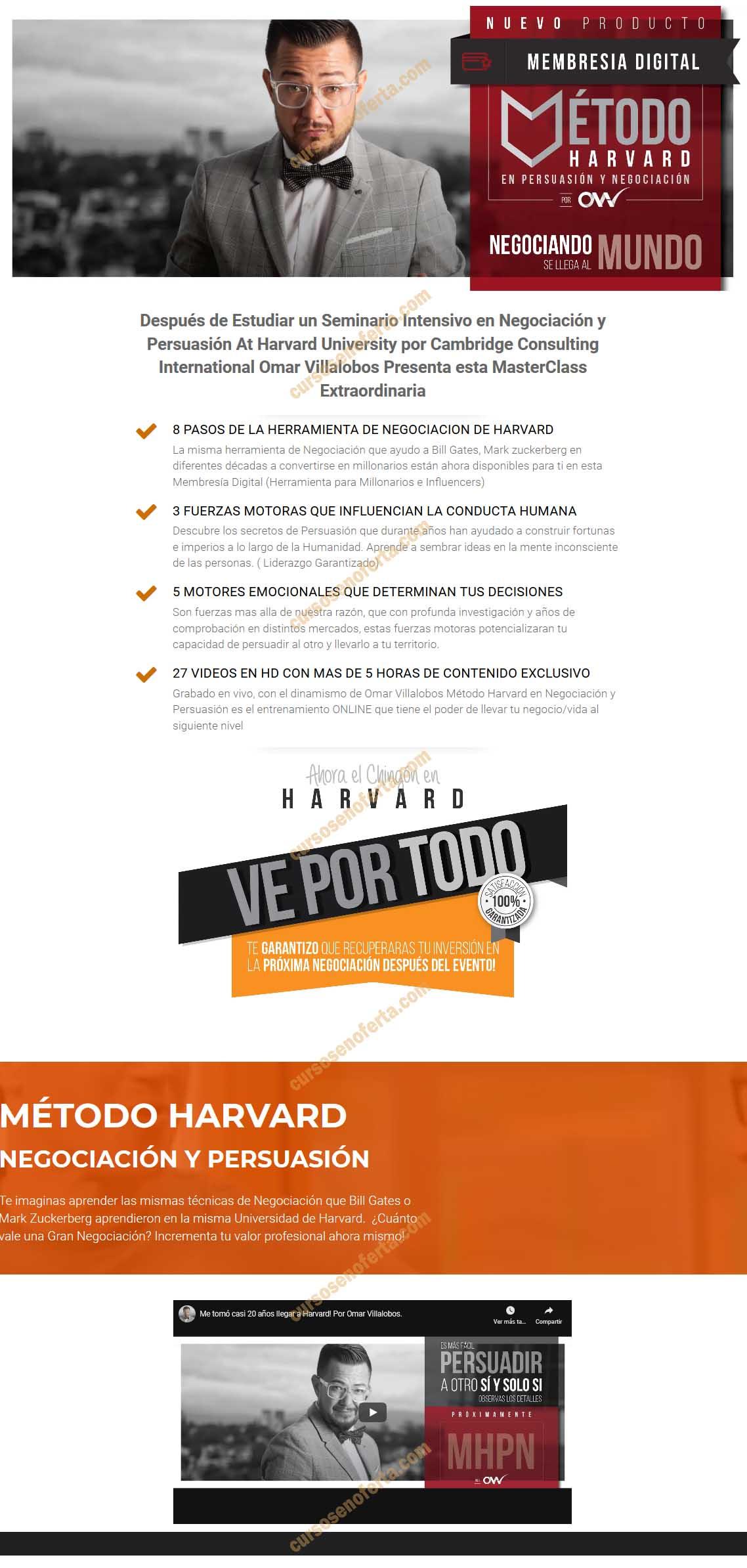 Método Harvard en Persuasión y Negociación