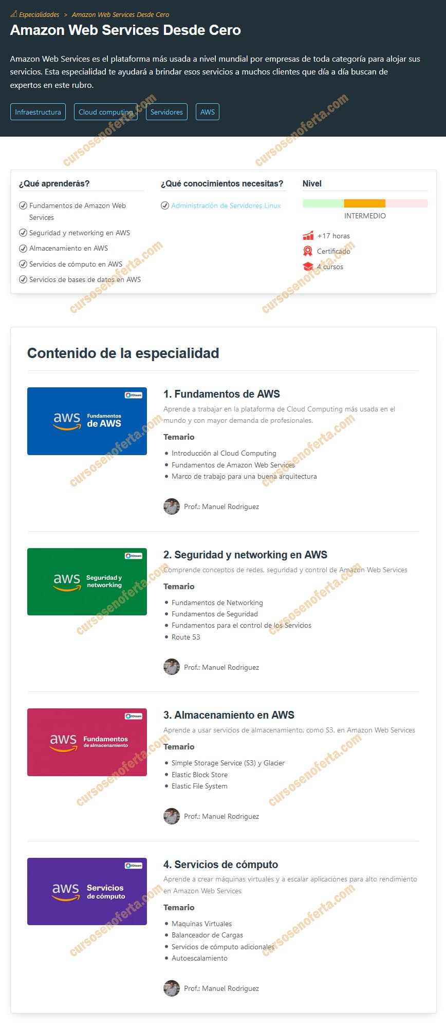 Amazon Web Services Desde Cero