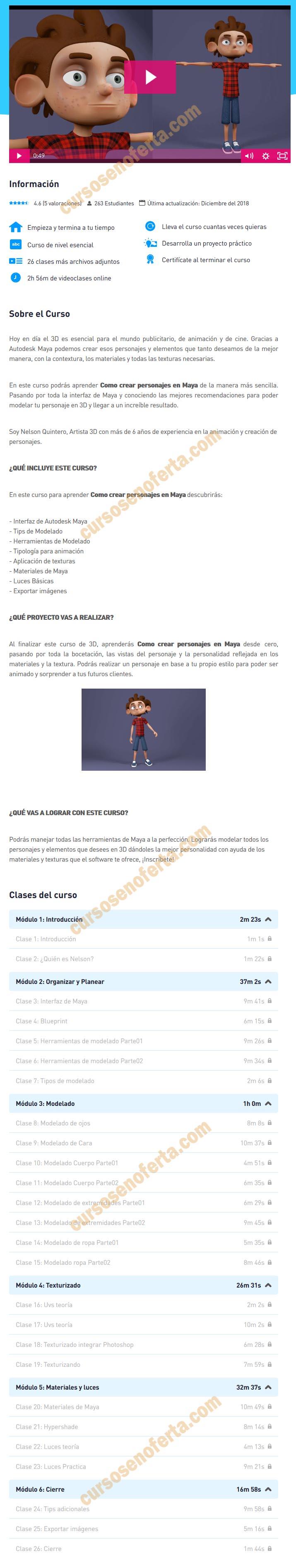 Crea tu primer personaje para animación en Maya