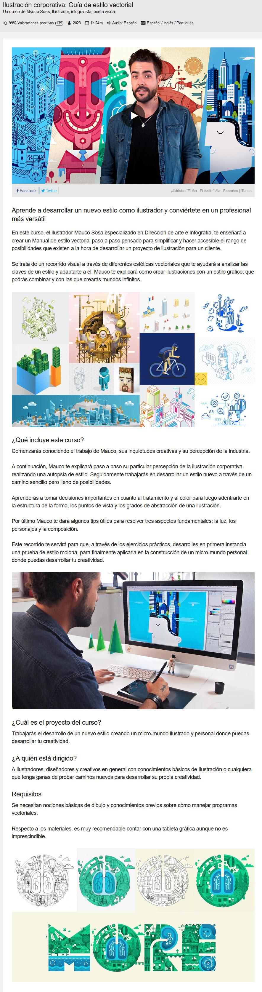 Ilustración corporativa: Guía de Estilo vectorial