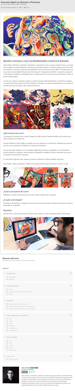 Ilustración Digital con Illustrator y Photoshop