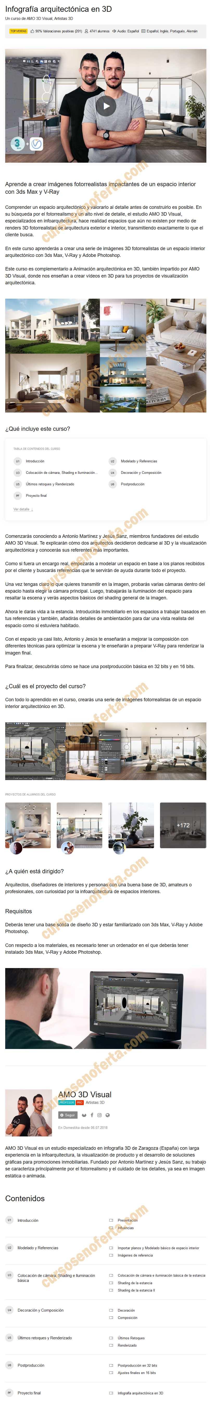 Infografía arquitectónica en 3D