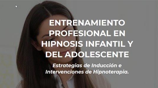 Entrenamiento Profesional en Hipnosis Infantil y del Adolescente  LAHP