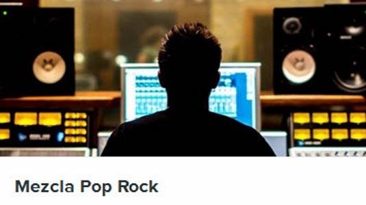 mezcla pop rock